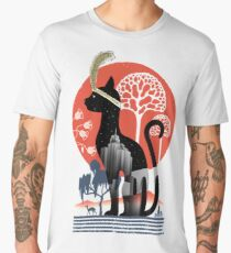 Cat Deco Men's Premium T-Shirt