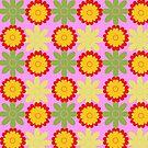 Simple flowery pattern by Silvia Ganora