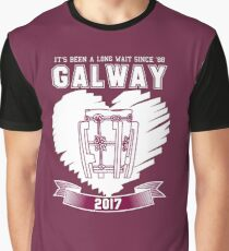 All Ireland Hurling Champions: Galway (Maroon/White) Graphic T-Shirt