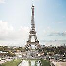 Eiffel Tower - Eiffelturm - Paris von Brixhood