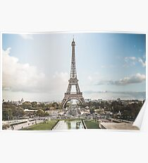 Eiffel Tower - Eiffelturm - Paris Poster
