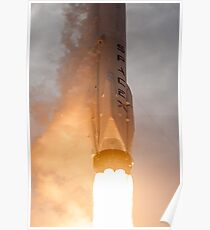 Spacex Rocket Poster