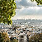 Paris - Panorama view  by Brixhood