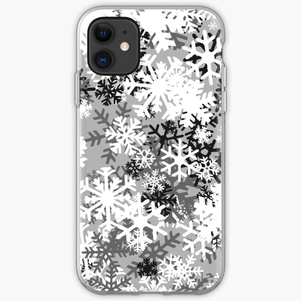 Snowflake Camo iPhone Soft Case