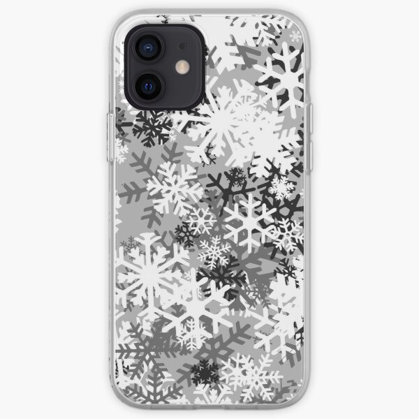 Snowflake Camo iPhone Soft Case