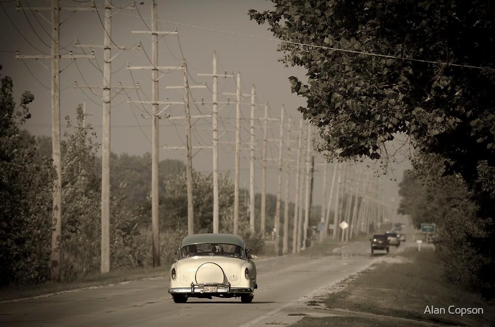 Route 66. Godley 1950's car (Alan Copson ©) by Alan Copson