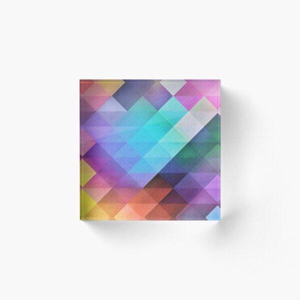 Pattern 12 Acrylic Block