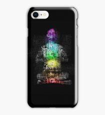 Matrix Chakra Man iPhone Case/Skin