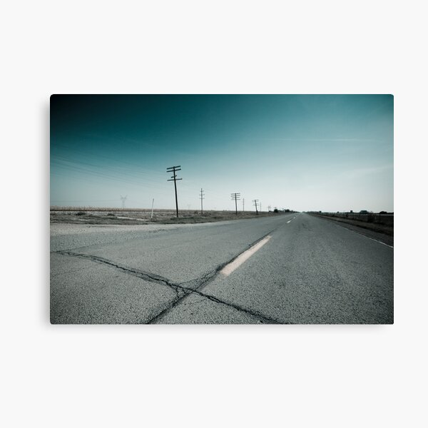 Route 66 near Dwight. Illinois  Canvas Print