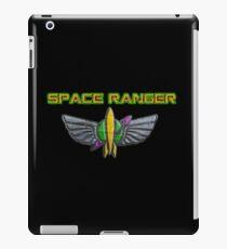 "Space Ranger Elite Badge w/ ""Space Ranger"" Text iPad Case/Skin"