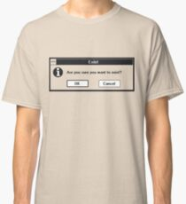 Basic Existentialism I Classic T-Shirt