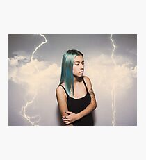They Sicken of the Calm who Knew the Storm Photographic Print