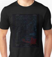USGS TOPO Map Idaho ID Mud Lake NW 237341 1964 24000 Inverted Unisex T-Shirt