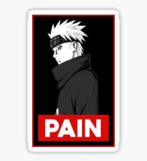 Pain Obey Sticker