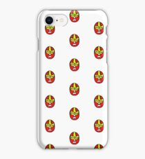 lucha libre, luchador mexican wrestling mask iPhone Case/Skin