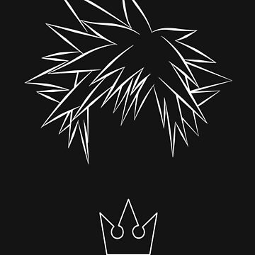 Minimal Sora from Kingdom Hearts by HiddenCorner