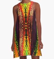 Neon Layer Cell Formation - 2 A-Line Dress