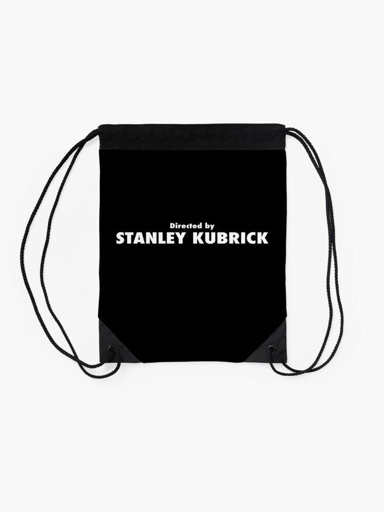Alternate view of Directed by Stanley Kubrick Drawstring Bag