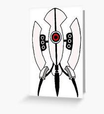 Portal Turret Greeting Card
