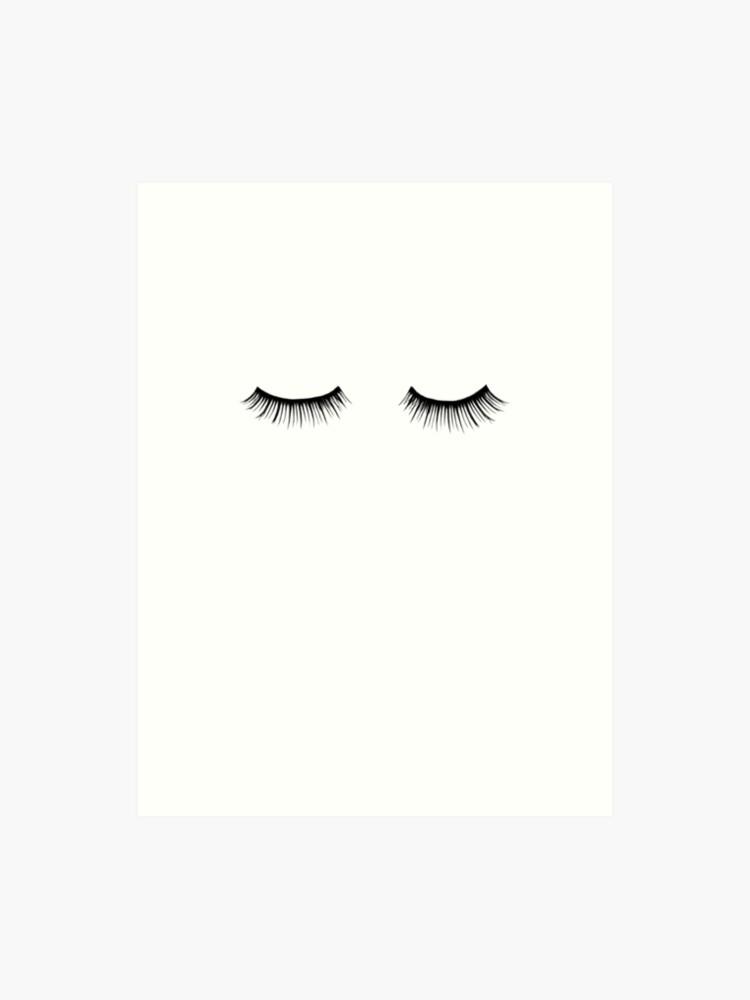 411e84c9efb Impression artistique « Cils, Cils, Mode, Vogue, Beauté, Maquillage,  Élégant. «