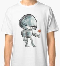 Cute Robot AI Emotion Artificial Intelligence Tech Future Classic T-Shirt