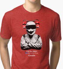 Stig's American Cousin Tri-blend T-Shirt