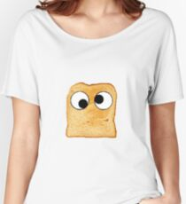 Toast With Eyes Women's Relaxed Fit T-Shirt