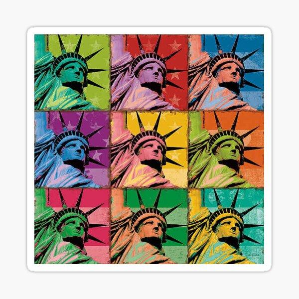 Statue of Liberty Art Sticker