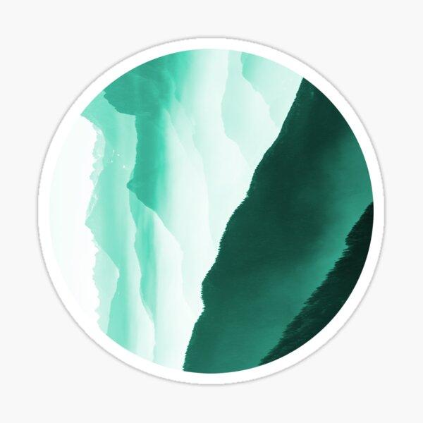 Creamy Mountain  Sticker
