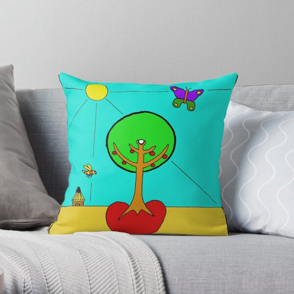 Nurturing Life Throw Pillow