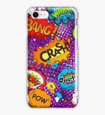 Funny Speech Bubbles 5 iPhone Case/Skin