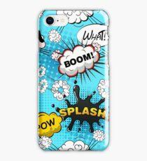 Funny Speech Bubbles 6 iPhone Case/Skin