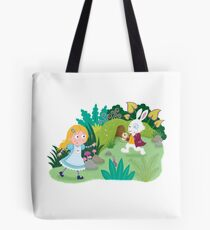 Follow The Rabbit Tote Bag