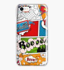 Funny Speech Bubbles 8 iPhone Case/Skin