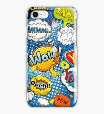 Funny Speech Bubbles 9 iPhone Case/Skin