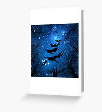 Neverland Magic Forest Greeting Card
