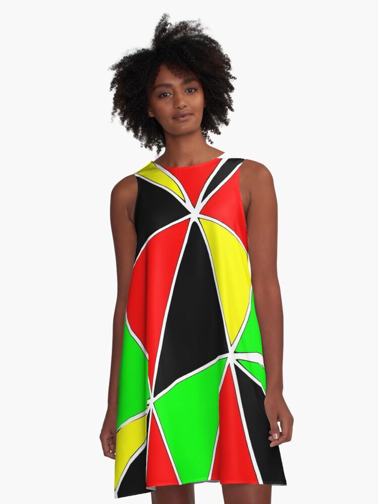 Africa A-Line Dress Front