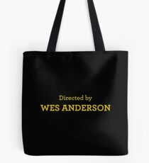 Directed by Wes Anderson Tote Bag