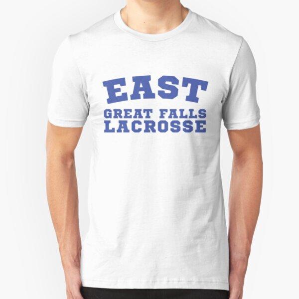 East Great Falls Lacrosse Slim Fit T-Shirt