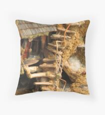 Twisted Imagination Throw Pillow