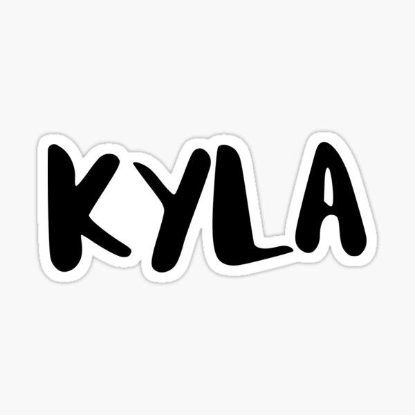 KYLA Sticker