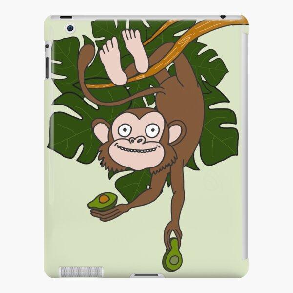 Monkey and Avocado iPad Snap Case