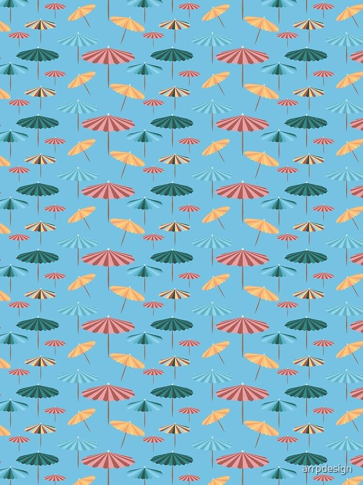 blue parasol by arrpdesign