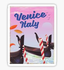 Venice Italy travel poster Sticker
