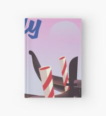 Venice Italy travel poster Hardcover Journal