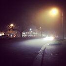 Foggy night in Yea by Elaine Stevenson