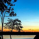 Lake Sandoval Sunset by Iris MacKenzie