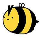 Happy bee by Ben Cameron