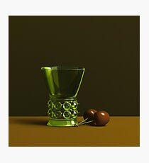 chalice & cherries Photographic Print