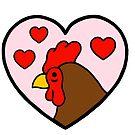 Love cockerel  by Ben Cameron
